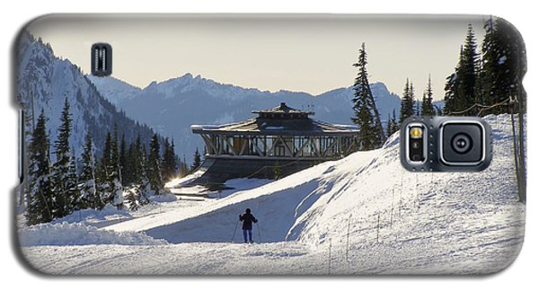 Paradise Found And Lost - Mt. Rainier Galaxy S5 Case