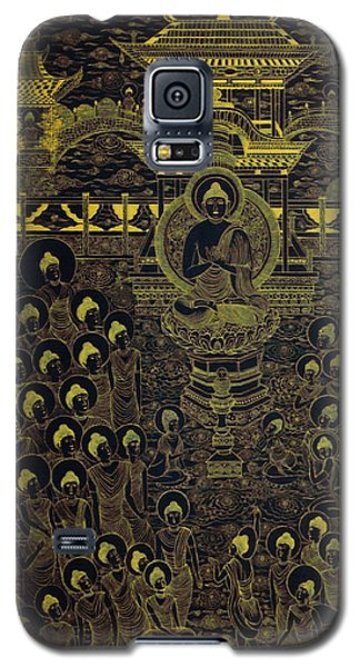 Paradise Of Holy Sakyamuni Galaxy S5 Case by Fei A