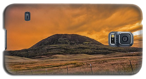 Paradise On Elk Mountain Meadows Galaxy S5 Case