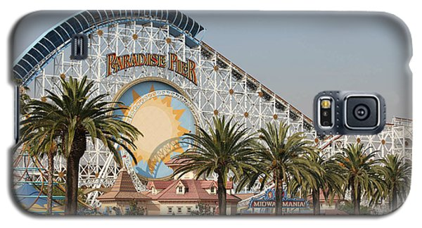 Galaxy S5 Case featuring the photograph Paradise Pier by Michael Albright