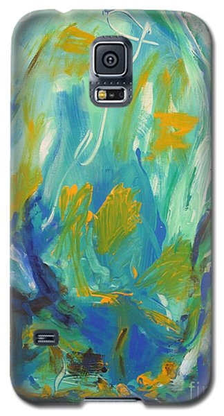 Galaxy S5 Case featuring the painting  Spring Time by Fereshteh Stoecklein