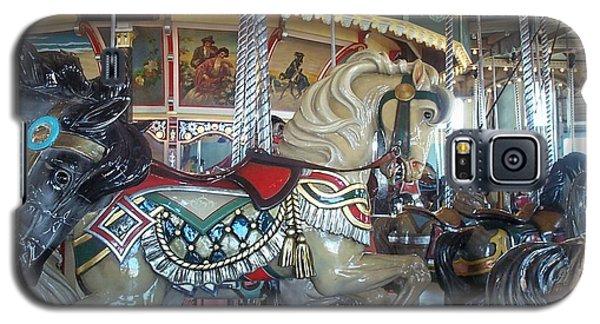 Paragon Carousel Nantasket Beach Galaxy S5 Case by Barbara McDevitt