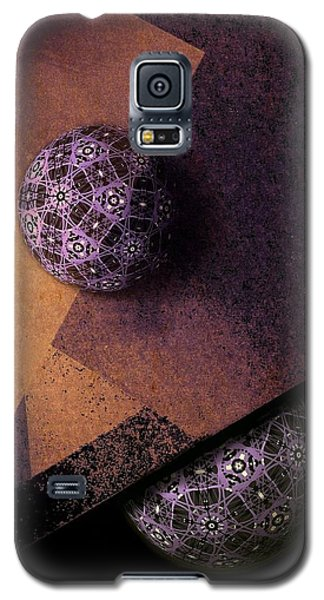Galaxy S5 Case featuring the digital art Paragon by Susan Maxwell Schmidt