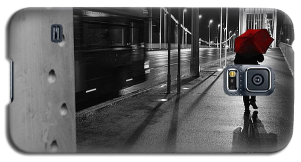 Galaxy S5 Case featuring the photograph Parallel Speed by Simona Ghidini