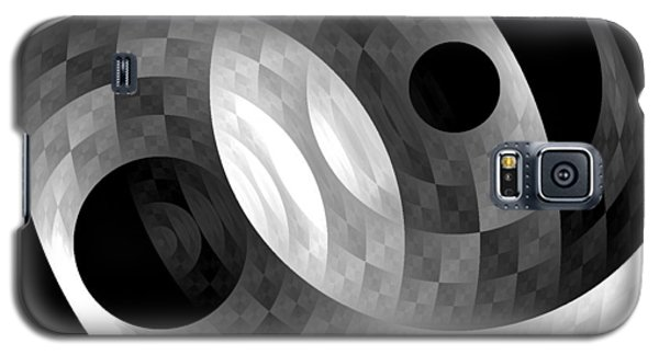 Galaxy S5 Case featuring the digital art Parallel Universes by Martina  Rathgens