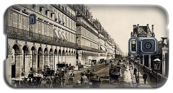 Paris 1900 Rue De Rivoli Galaxy S5 Case by Ira Shander