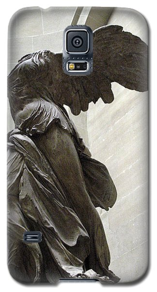 Paris Angel Louvre Museum- Winged Victory Of Samothrace Galaxy S5 Case