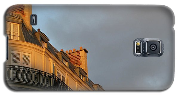 Galaxy S5 Case featuring the photograph Paris At Sunset by Ann Horn