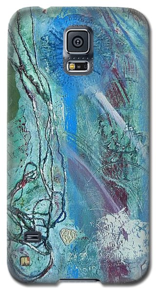 Galaxy S5 Case featuring the painting Paris by Betty-Anne McDonald