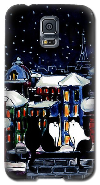 Paris Cats Galaxy S5 Case