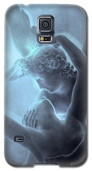 Eros And Psyche Louvre Sculpture - Paris Eros And Psyche Romance Lovers  Galaxy S5 Case
