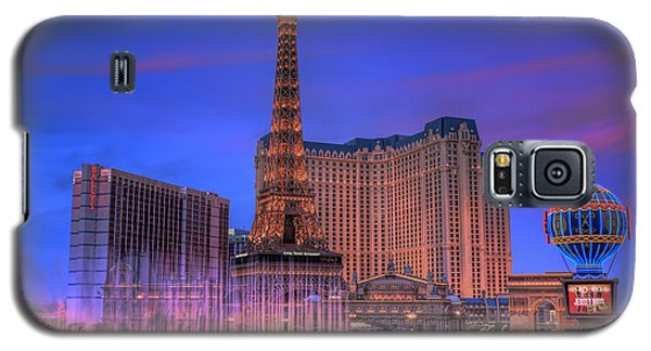 Paris Las Vegas At Sunset Galaxy S5 Case