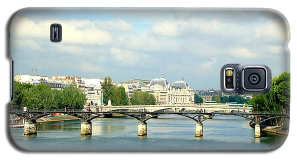 Galaxy S5 Case featuring the photograph Paris On The Seine by Kay Gilley