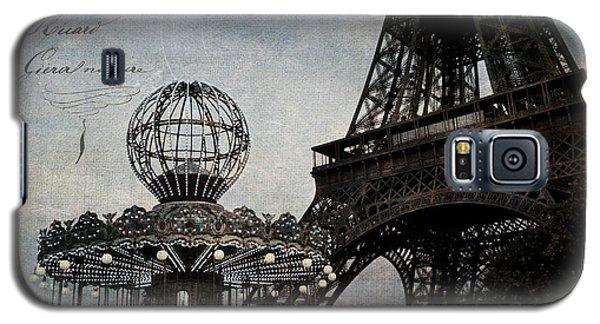 Paris One More Ride Galaxy S5 Case