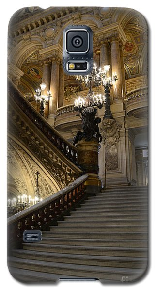 Paris Opera Garnier Grand Staircase - Paris Opera House Architecture Grand Staircase Fine Art Galaxy S5 Case