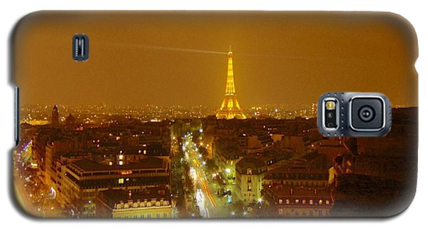 Paris Orange Galaxy S5 Case