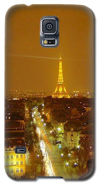 Paris Orange Galaxy S5 Case