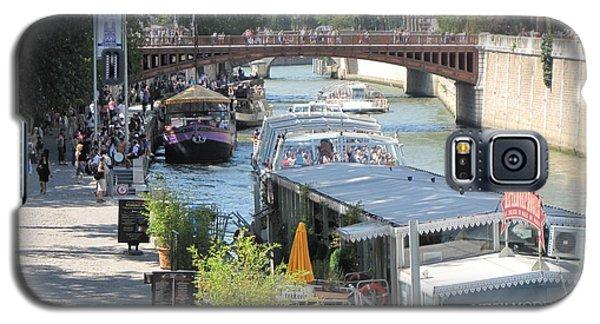 Paris - Seine Scene Galaxy S5 Case
