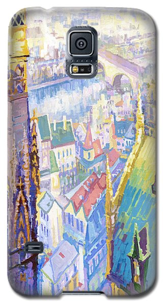 Paris Shadow Notre Dame De Paris Galaxy S5 Case by Yuriy  Shevchuk
