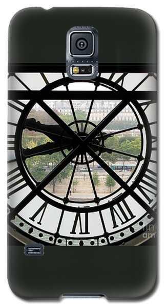 Galaxy S5 Case featuring the photograph Paris Time by Ann Horn