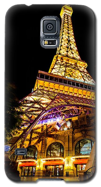 Eiffel Tower Galaxy S5 Case - Paris Under The Tower by Az Jackson
