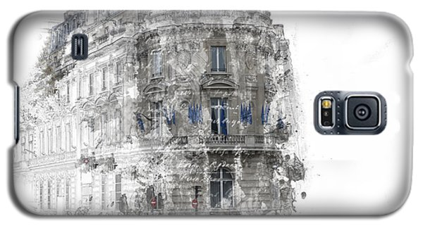 Paris With Flags Galaxy S5 Case