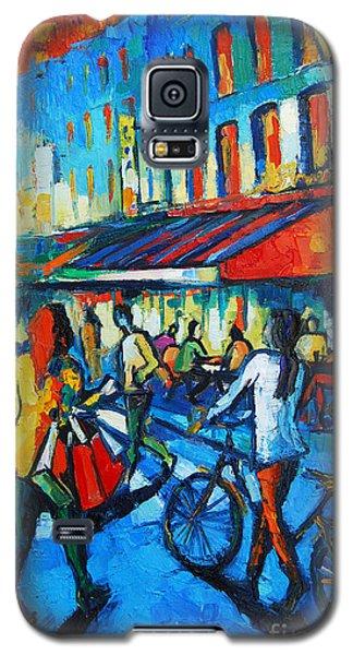 Parisian Cafe Galaxy S5 Case