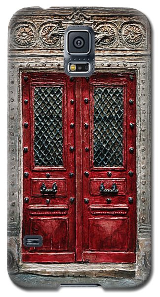 Parisian Door No.82 Galaxy S5 Case by Joey Agbayani