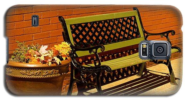 Park Bench Galaxy S5 Case by Roseann Errigo