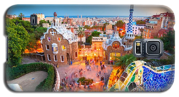 Park Guell In Barcelona - Spain Galaxy S5 Case by Luciano Mortula