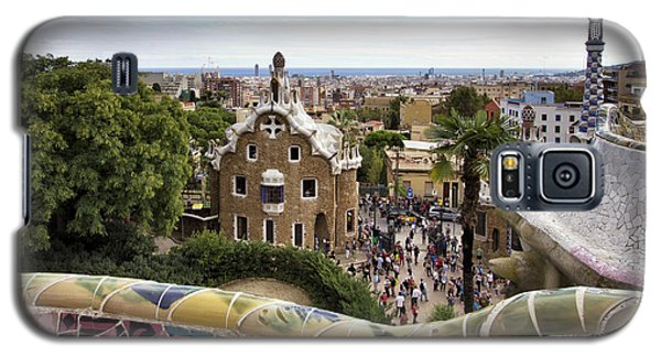Galaxy S5 Case featuring the photograph Park Guell by Yelena Rozov