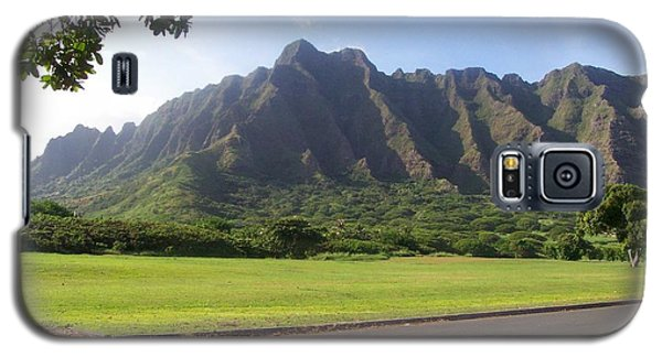 Park On Oahu Galaxy S5 Case