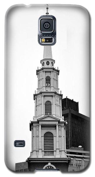 Park Street Church Boston Black And White Galaxy S5 Case