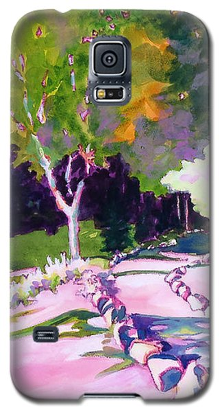 Park Trails 2           Galaxy S5 Case by Kathy Braud