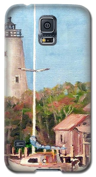 Parked By Ocracoke Galaxy S5 Case by Jim Phillips