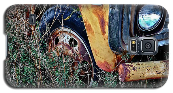 Galaxy S5 Case featuring the photograph Parked Fuel Oil Truck by Greg Jackson