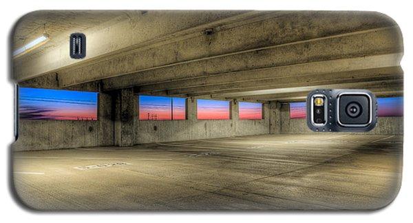 Parking Deck Sunset Galaxy S5 Case by Micah Goff