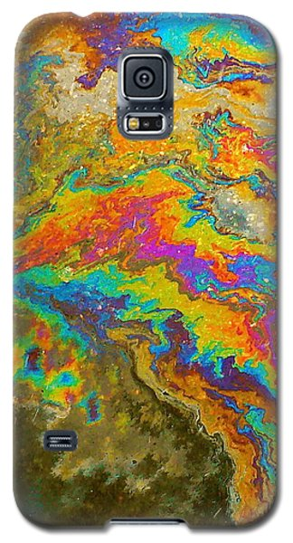 Parking Lot Tie-dye Galaxy S5 Case