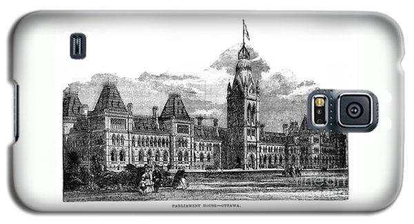 Parliament Building - Ottawa - 1878 Galaxy S5 Case