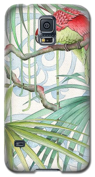 Macaw Galaxy S5 Case - Parrot, 2008 by Jenny Barnard