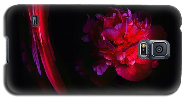Parrot And Paeony Illusion Galaxy S5 Case
