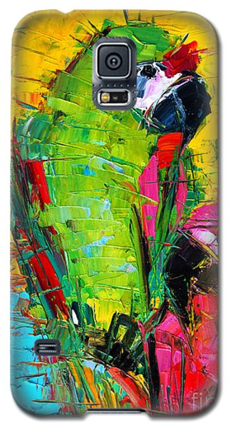 Parrot Lovers Galaxy S5 Case by Mona Edulesco