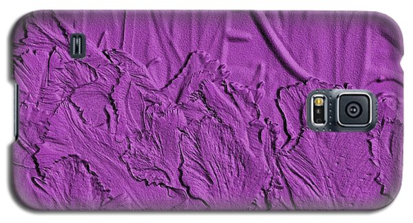 Parrot Tulips Embossed Galaxy S5 Case by Manuela Constantin