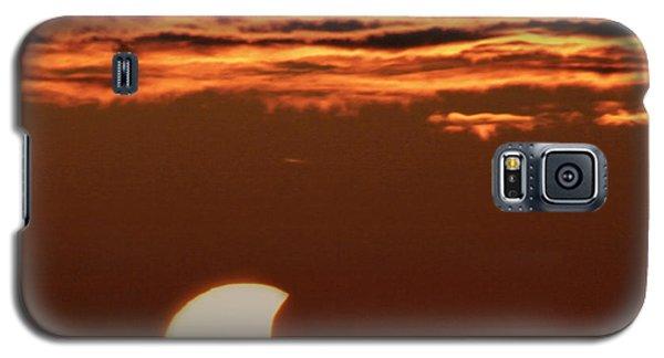 Pac-man Sun Galaxy S5 Case