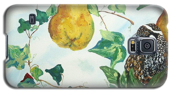 Partridge And  Pears  Galaxy S5 Case