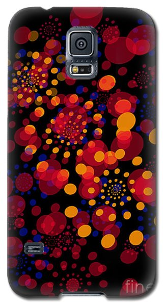 Party Time Abstract Painting Galaxy S5 Case