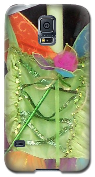 Galaxy S5 Case featuring the photograph Party Time Window by Jackie Mueller-Jones