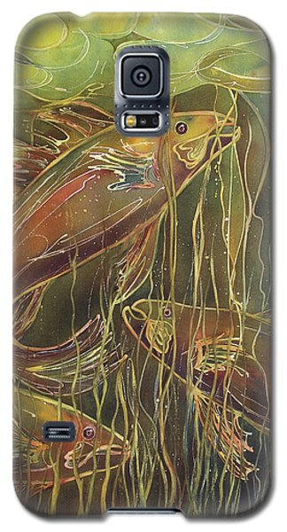 Party Under The Lily Pads II Galaxy S5 Case