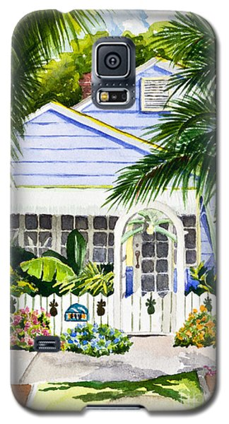 Pass-a-grille Cottage Watercolor Galaxy S5 Case