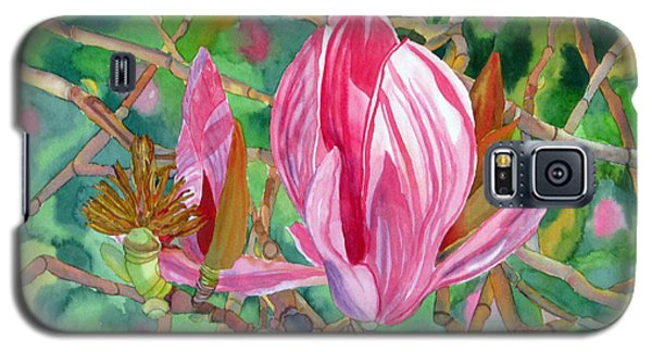 Galaxy S5 Case featuring the painting Passage by Debi Singer